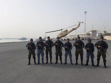 المناورات العسكرية المصرية البحرينية تتواصل في الخليج العربي