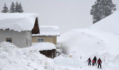 قتلى ومفقودون بسبب تساقط كثيف للثلوج في النمسا