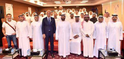 كولينا : الإمارات سباقة ودبي محطة عالمية للرياضة