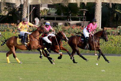 ميثاء بنت محمد تقود فريق الامارات للفوز على فريق غنتوت