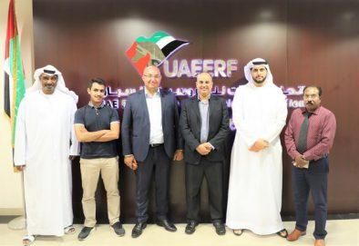 الوفد السعودي في ضيافة اتحاد الإمارات للفروسية والسباق