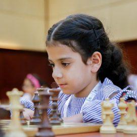 مواجهات مثيرة في اليوم الثاني لكأس رئيس الدولة للشطرنج