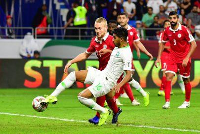 المنتخب السعودي إلى ثمن نهائي كأس آسيا بثنائية في لبنان