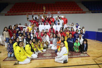 زهرات التايكواندو بنادي الشارقة يتألقن في بطولة الإمارات المفتوحة للتايكواندو