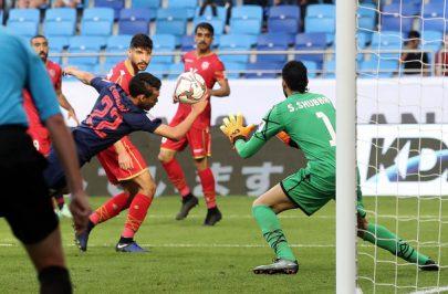 منتخب البحرين يتعثر أمام تايلاند