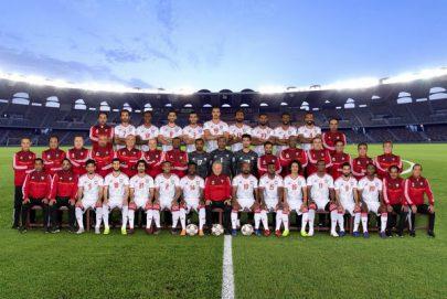 منتخبنا يلتقط الصورة الرسمية لبطولة آسيا
