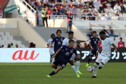 """""""الساموراي """" الياباني إلى ربع النهائي على حساب """"الأخضر"""" السعودي"""