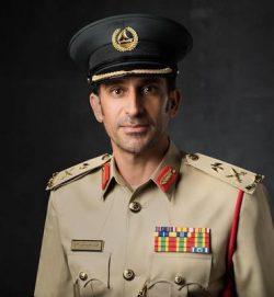 شرطة دبي تعاهد محمد بن راشد الاسترشاد وتنفيذ مبادئه الثمانية