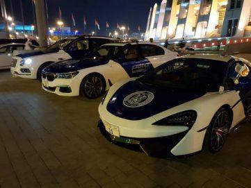 فرق شرطة أبوظبي تعزز سلامة وأمن جماهير كأس آسيا