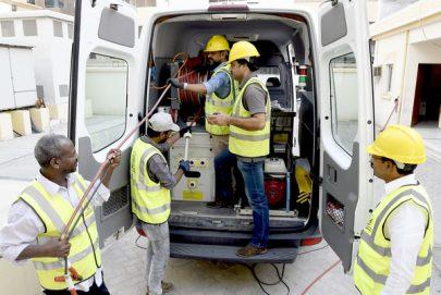 كهرباء الشارقة تزود مركز التحكم بأجهزة حديثة لإكتشاف الأعطال خلال 5 دقائق