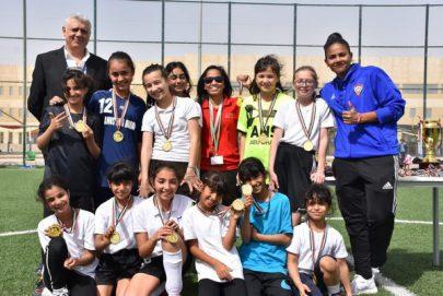 """""""كرة قدم السيدات"""" تنظم مهرجانا للواعدات في أبوظبي بمشاركة 100 طالبة"""