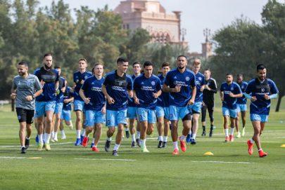 نادي نيويورك سيتي لكرة القدم يختتم معسكره في أبوظبي