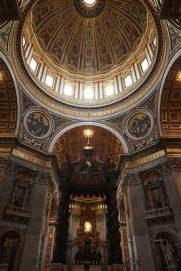 قبة الكاتدرائية في الفاتيكان