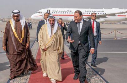 حاكم الشارقة يبدأ زيارة إلى مصر تستمر عدة أيام