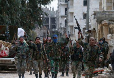 الجيش السوري يطهر محيط حلب ويتوسع بريف إدلب