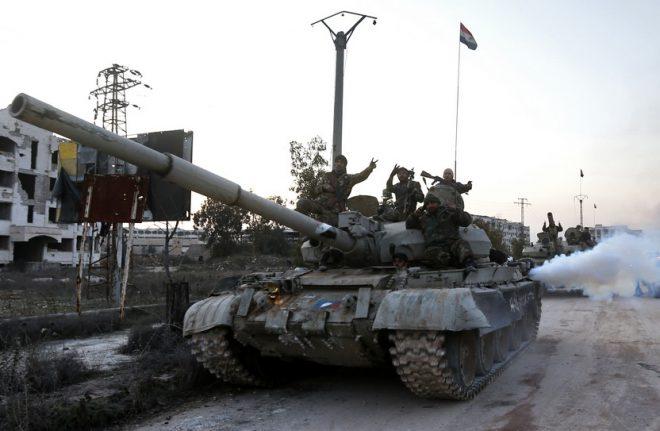 تركيا تتلقى ضربات قوية في شمال سوريا