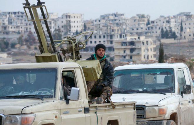 الجيش السوري يدمر آليات تركية في الشمال الغربي