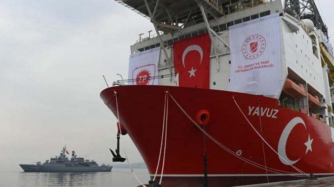 أردوغان يجدد الانتهاكات بسفينة تركية ثالثة للتنقيب بالمتوسط