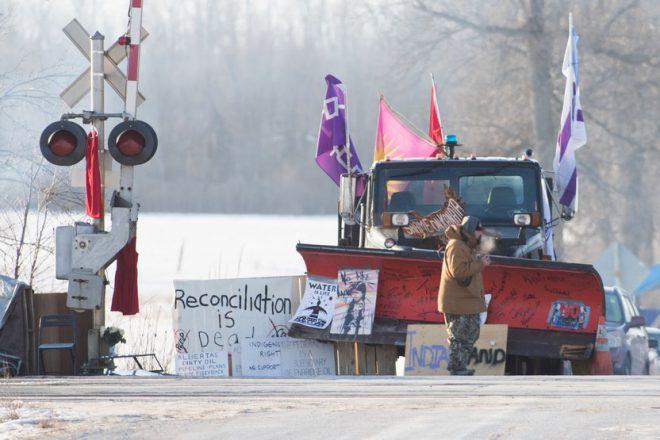 ترودو يطالب بإنهاء احتجاجات السكان الأصليين شرق كندا