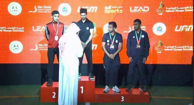 6ميداليات لشرطة أبوظبي في بطولة الإمارات لـ