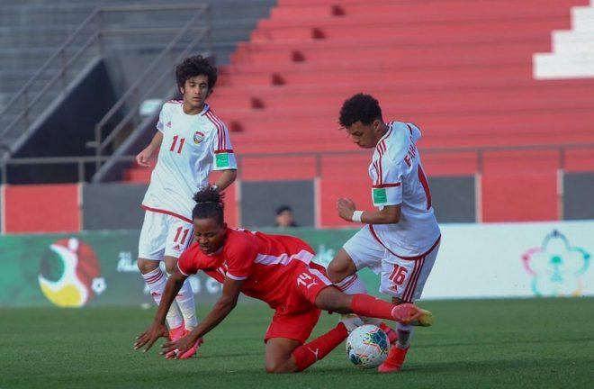 أبيض الشباب يهزم السودان بهدفين في ختام مشاركته في بطولة كأس العرب