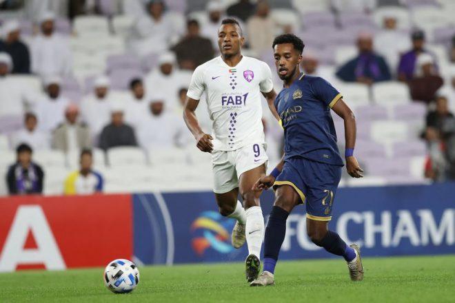 العين يخسر امام النصر السعودي 2/1 في دوري أبطال آسيا