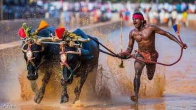 عامل هندي يكسر رقم بولت في 100 متر