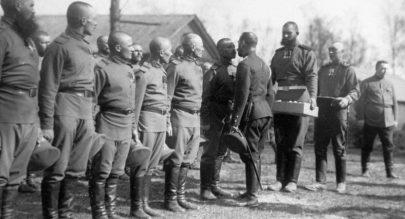 خوذة من الحرب العالمية الأولى أفضل من الحالية