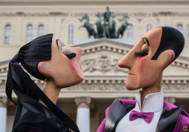 انطلاق مهرجان مسارح الدمى في روسيا