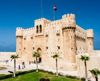 قلعة مصرية عمرها 5 قرون في الإسكندرية