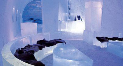 اقبال على فندق جليدي في السويد