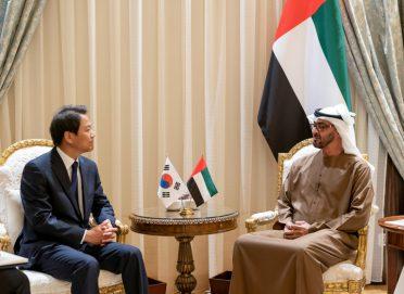 محمد بن زايد: التعاون الإماراتي الكوري في إنتاج الطاقة النووية السلمية نموذج متميز لعلاقات التنمية بين البلدين