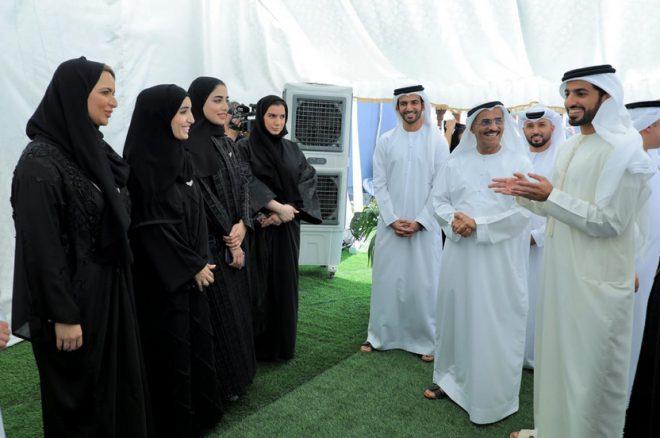 راشد بن حميد يشهد إطلاق مبادرة