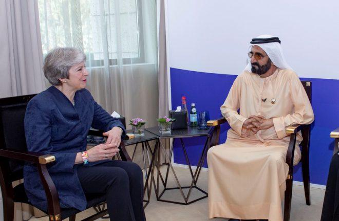 محمد بن راشد يؤكد أهمية التعاون الإماراتي -البريطاني لتنعم الإنسانية بفرص أرحب من الرفاه والتقدم
