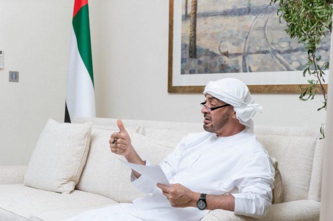 محمد بن زايد: الإمارات بخير وستبقى بخير وسننتصر في المعركة على