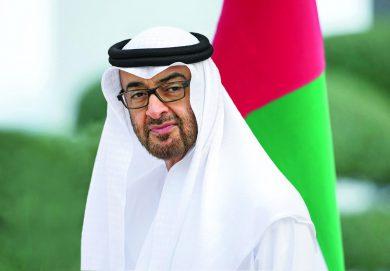محمد بن زايد: الإمارات تدعم شعوب العالم لتجاوز المرحلة الصعبة