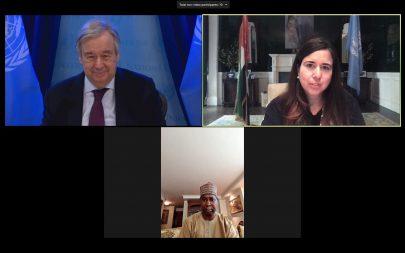 الإمارات والأمم المتحدة تستضيفان لقاءً عبر الاتصال المرئي مع أعضاء