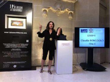 إيطالية تربح لوحة لبيكاسو بمليون يورو