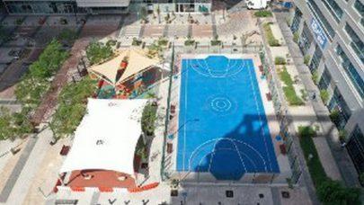 البلدية تنشئ منطقة ألعاب رياضية جديدة على كورنيش أبوظبي