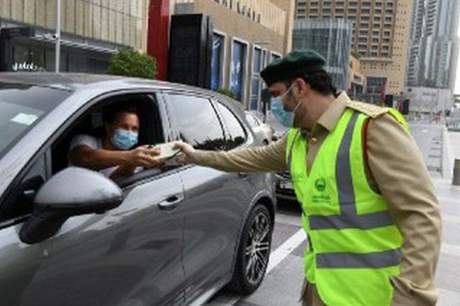مرور دبي يهنئ أبطال الدفاع الأول والجمهور بحلول عيد الفطر السعيد