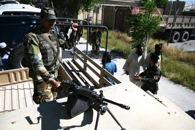 7 قتلى من الأمن الأفغاني بهجوم لـ