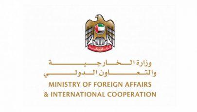 الإمارات تعلن تأييدها للجهود المصرية الخيرة الداعية إلى وقف فوري لإطلاق النار في ليبيا