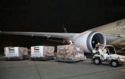 الإمارات ترسل مساعدات طبية وغذائية إلى موريتانيا لدعمها في مكافحة