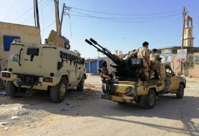 سرت مقصد المليشيات والجيش الليبي بالمرصاد
