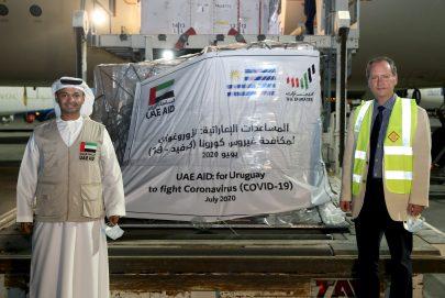 الإمارات ترسل تدعم الأوروغواي لتعزيز جهودها في مكافحة