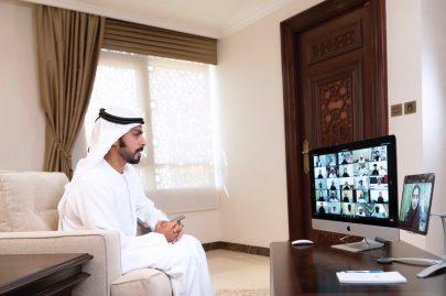 خليفة بن طحنون يشارك أبناء الفخر فرحة النجاح ويؤكد : أنتم أسوار الوطن