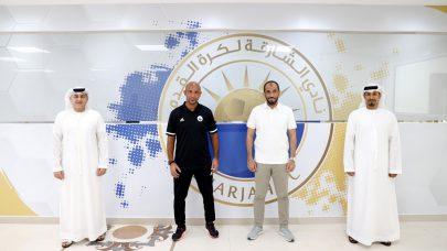 نادي الشارقة الرياضي يتعاقد مع عبدالرحمن الحداد مدربا لفريق 21 سنة