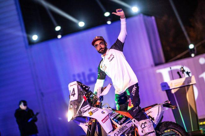 الدراج العالمي محمد البلوشي يبدأ برنامج إعداده لرالي أبوظبي الصحراوي