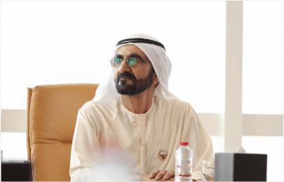 محمد بن راشد يصدر قانوناً بشأن معهـد دبـي العقـاري