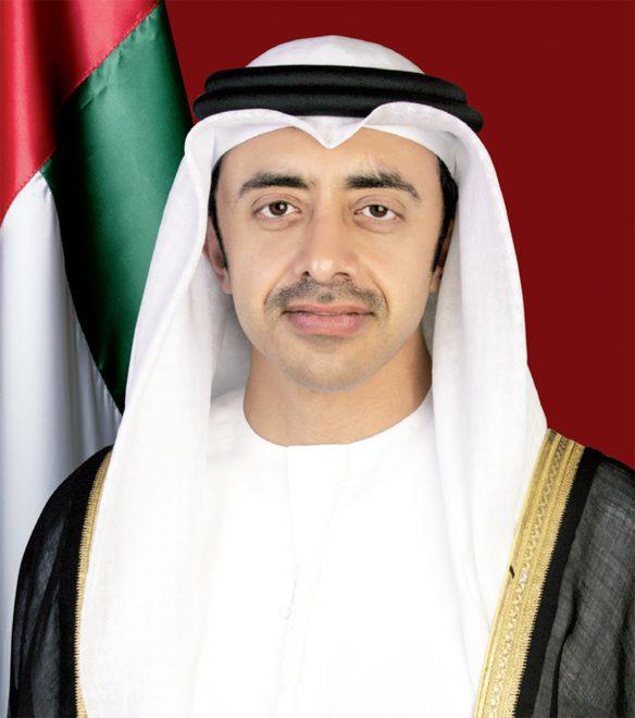 عبدالله بن زايد: حريصون على دعم وتعزيز مسيرة التعاون العربي - الصيني